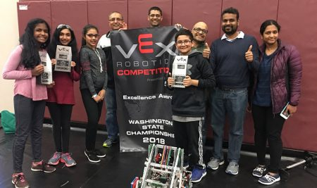 CoZmic RoboticZ make it to the World Championship in VEX!!