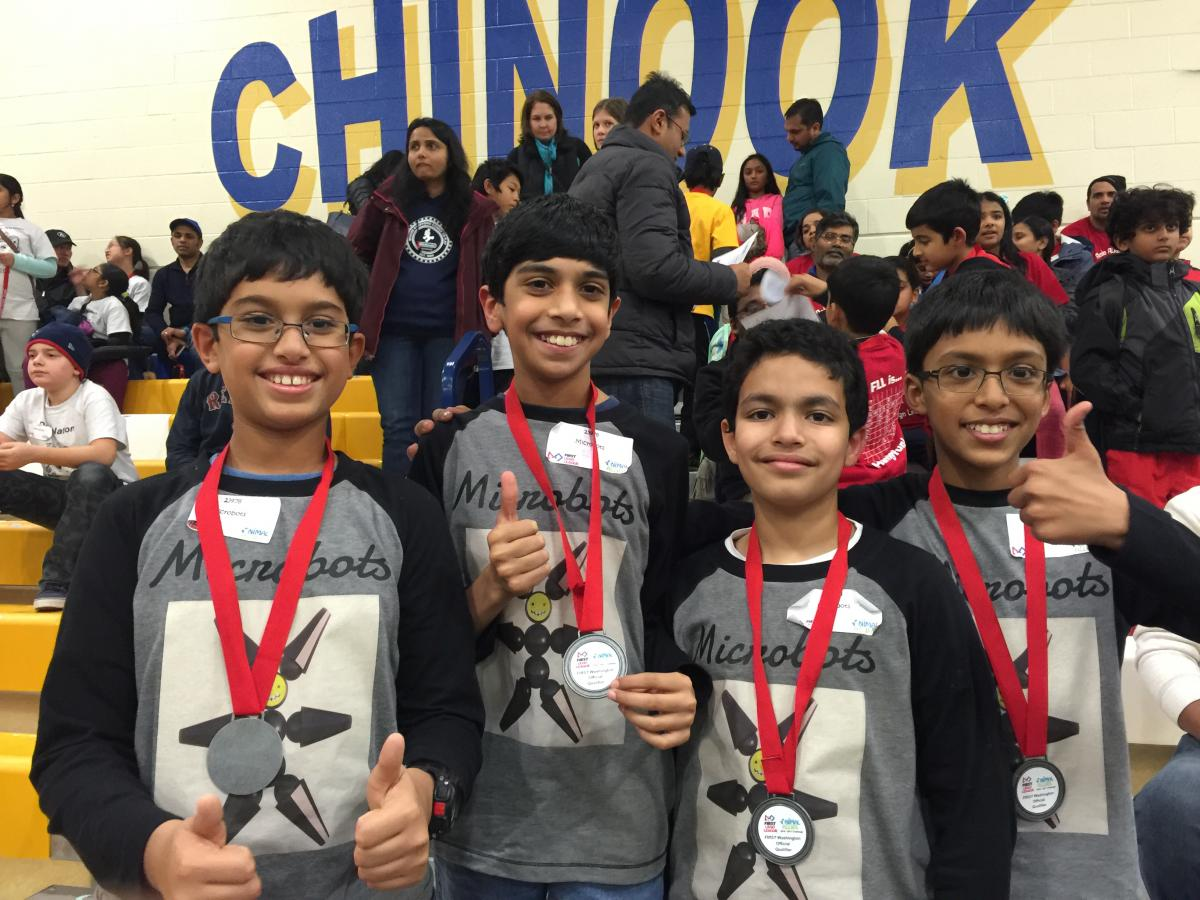 Microbots qualify for the State Semi-Finals